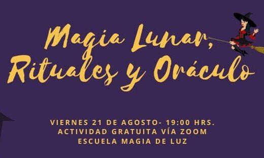 """Charla """"Magia Lunar, Rituales y Oráculo"""""""